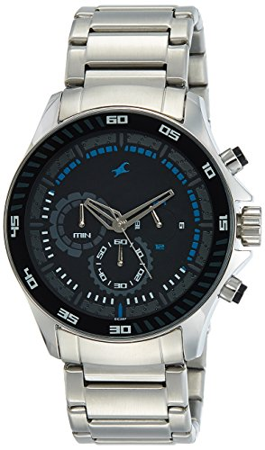 Fastrack Chrono Upgrade Analog Black Dial Mens Watch ND3072SM03 0 0 - Fastrack ND3072SM03 Chrono Upgrade Analog Black Dial Men's watch