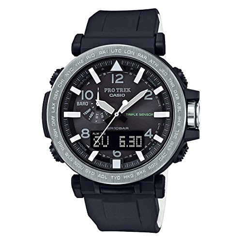 Casio Protrek Analog Digital Black Dial Mens Watch PRG 650 1DR SL99 0 - Casio PRG-650-1DR (SL99) Protrek Men's watch