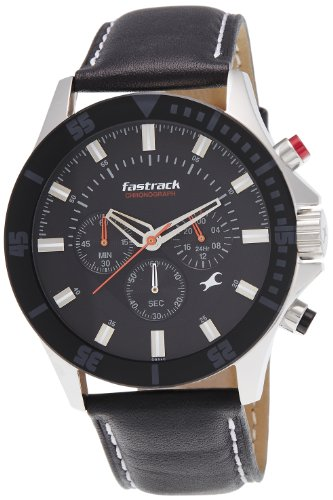 Fastrack Fastrack His and Her Analog Black Dial Mens Watch ND3072SL02 0 - Fastrack ND3072SL02 Analog Black Dial Men's watch