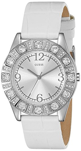 Guess Analog Silver Dial WomensWatch I95263L1 0 - Guess I95263L1 Analog Silver Dial Women watch