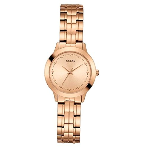 Guess Chelsea Rose Gold Dial Analog Womens Watch W0989L3 0 - Guess W0989L3 Chelsea Rose Gold Dial Analog Women watch
