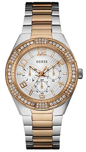 Guess Crystals Multifunction Womens Watch W0729L4 0 - Guess W0729L4 Crystals Multifunction Women watch