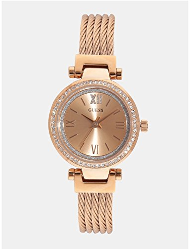 Guess Rose Gold Dial Analog Womens Watch W1009L3 0 - Guess W1009L3 Rose Gold Dial Analog Women watch