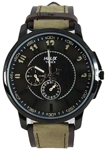 Helix Analog Black Dial Mens Watch TW027HG10 0 - Helix TW027HG10 Analog Black Dial Men's watch