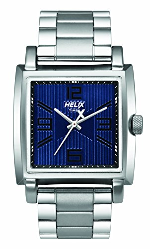 Helix Analog Blue Dial Mens Watch TW026HG10 0 - Helix TW026HG10 Analog Blue Dial Men's watch