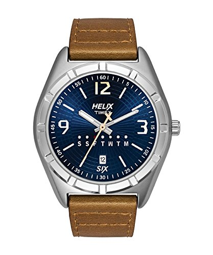 Helix Analog Blue Dial Mens Watch TW029HG07 0 - Helix TW029HG07 Analog Blue Dial Men's watch
