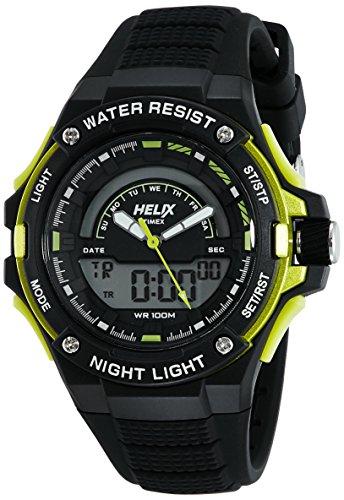 Helix Analog Digital Black Dial Unisex Watch TWESK0304 0 - Helix TWESK0304 Analog-Digital Black Dial Unisex watch