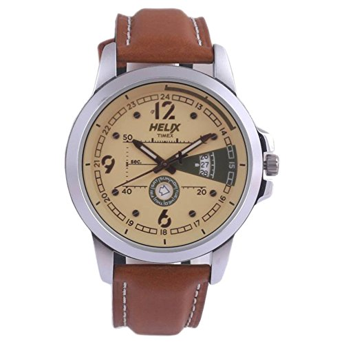 Helix Analog Grey Dial Mens Watch TW003HG17 0 - Helix TW003HG17 Analog Grey Dial Men's watch