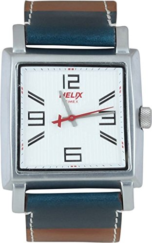 Helix Analog Silver Dial Mens Watch TW026HG05 0 - Helix TW026HG05 Analog Silver Dial Men's watch