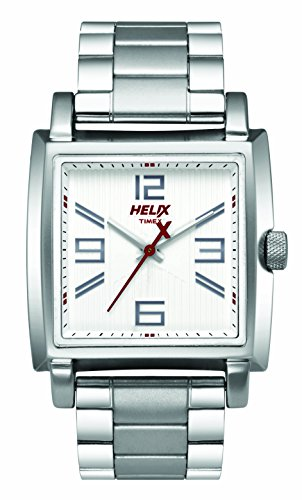 Helix Analog Silver Dial Mens Watch TW026HG08 0 - Helix TW026HG08 Analog Silver Dial Men's watch
