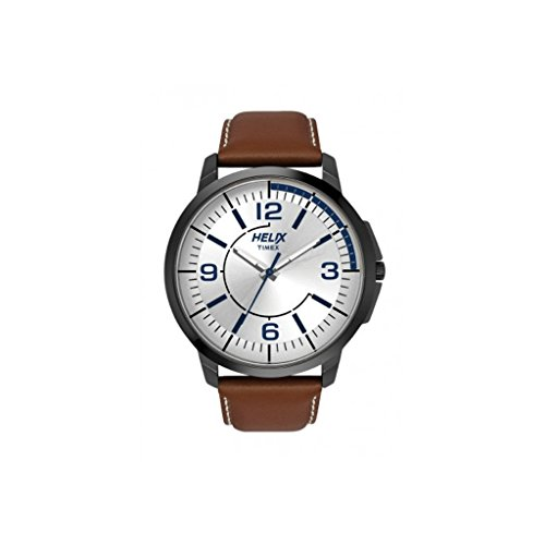 Helix Analog Silver Dial Mens Watch TW027HG14 0 - Helix TW027HG14 Analog Silver Dial Men's watch