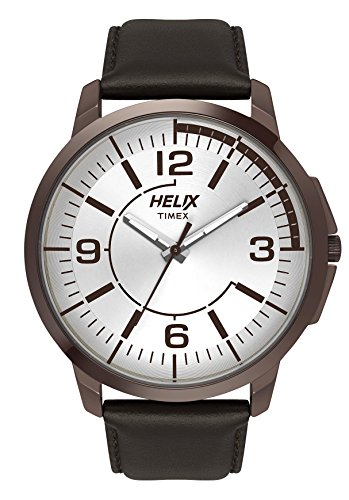 Helix Analog Silver Dial Mens Watch TW027HG17 0 - Helix TW027HG17 Analog Silver Dial Men's watch