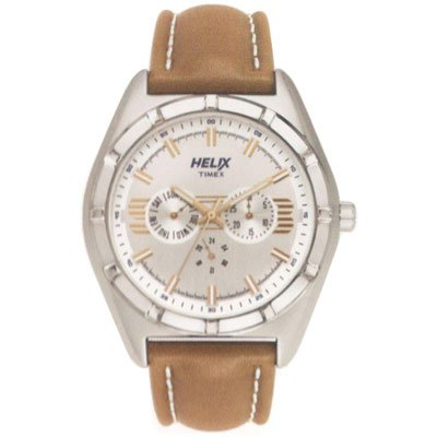 Helix Analog Silver Dial Mens Watch TW029HG01 0 - Helix TW029HG01 Analog Silver Dial Men's watch