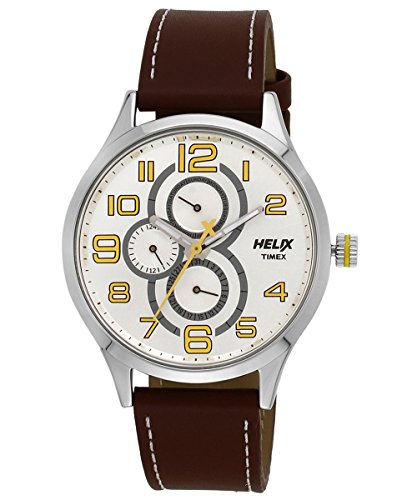 Helix Analogue Yellow Dial Mens Watch TW003HG08 0 - Helix TW003HG08 Analogue Yellow Dial Men's watch