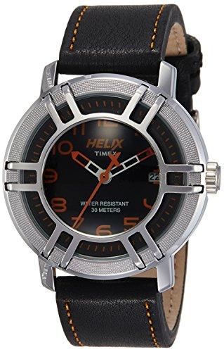 Helix Drifter Analog Black Dial Mens Watch 05HG02 0 - Helix 05HG02 Drifter Analog Black Dial Men's watch