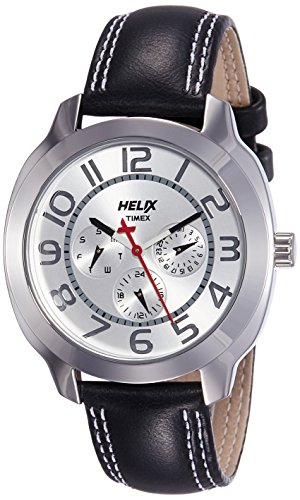 Helix Offshore Analog Silver Dial Mens Watch TI018HG0000 0 - Helix TI018HG0000 Offshore Analog Silver Dial Men's watch