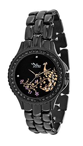 ILINA Analog Black Dial Womens Watch ILS5BPPCKTRBL 0 - ILINA Analog Black Dial Women ILS5BPPCKTRBL watch