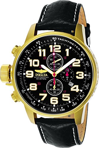 Invicta Force Analog Black Dial Mens Watch 3330 0 - Invicta Force Analog Black Dial Men's - 3330 watch