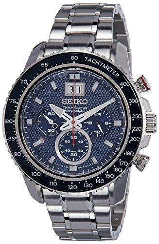 Seiko Sportura Chronograph Blue Dial Mens Watch SPC135P1 0 - Seiko SPC135P1 Sportura Chronograph Blue Dial Men's watch
