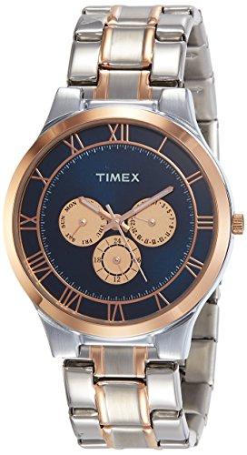 Timex Analog Blue Dial Mens Watch TW000K112 0 - Timex TW000K112 Analog Blue Dial Men's watch