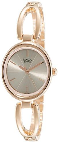 Titan Raga Viva Analog Rose Gold Dial Womens Watch 2579WM01 0 - Titan 2579WM01 Raga Viva Analog Rose Gold Dial Women watch