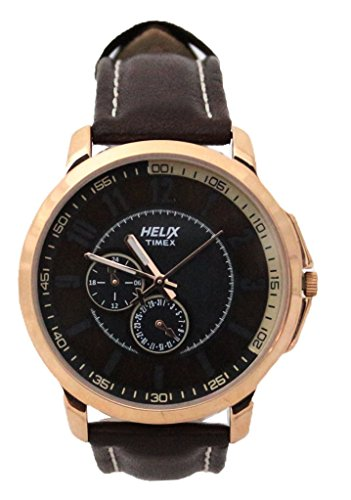 helix Analog Brown Dial Mens Watch TW027HG13 0 - helix TW027HG13 Analog Brown Dial Men's watch