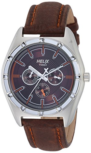 helix Analog Brown Dial Mens Watch TW029HG05 0 - helix TW029HG05 Analog Brown Dial Men's watch
