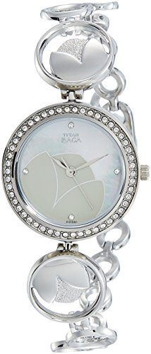 Titan Analog Mother Of Pearl Dial Womens Watch 2539SM01 0 - Titan 2539SM01 Analog Mother Of Pearl Dial Women watch