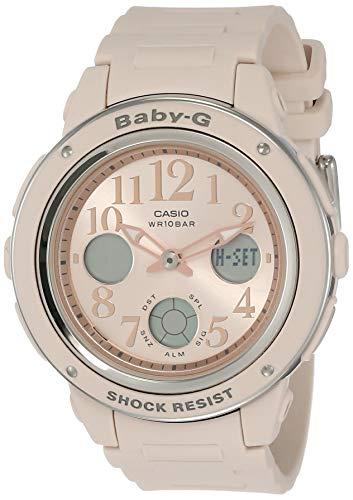Casio Baby G Analog Digital Pink Dial Womens Watch BGA 150CP 4BDRBX124 0 - Casio Baby-G Analog-Digital Pink Dial Women's Watch - BGA-150CP-4BDR(BX124)