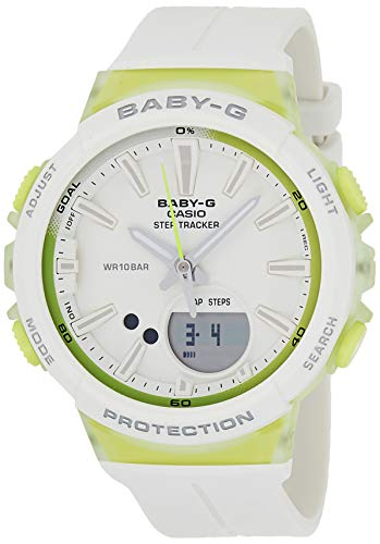 Casio Baby g Analog Digital White Dial Womens Watch BGS 100 7A2DR BX098 0 - Casio Baby-g Analog-Digital White Dial Women's Watch - BGS-100-7A2DR (BX098)
