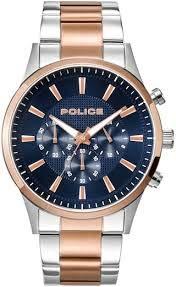 Police Analog Blue Dial Mens Watch PL15589JSTR03M 0 - Police Analog Blue Dial Men's Watch-PL15589JSTR03M