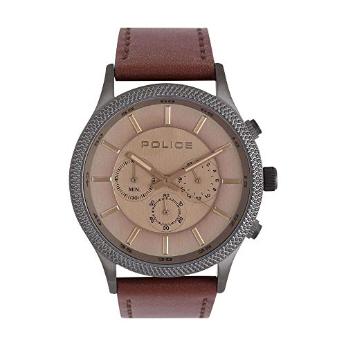 Police Pace Analog Grey Dial Mens Watch NBPL15002JSU13 0 - Police Pace Analog Grey Dial Men's Watch-NBPL15002JSU13