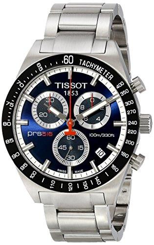 Tissot Analog Black Dial Mens Watch T0444172104100 0 - Tissot Analog Black Dial Men's Watch - T0444172104100