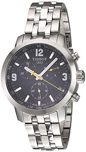 Tissot Analogue Black Dial MenS Watch T0554171105700 0 - Tissot Analogue Black Dial Men'S Watch T0554171105700