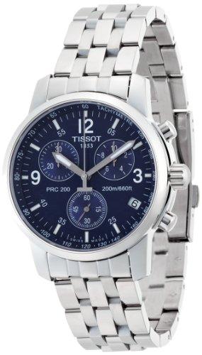 Tissot Chronograph Blue Dial Mens Watch T17158642 0 - Tissot Chronograph Blue Dial Men's Watch - T17158642