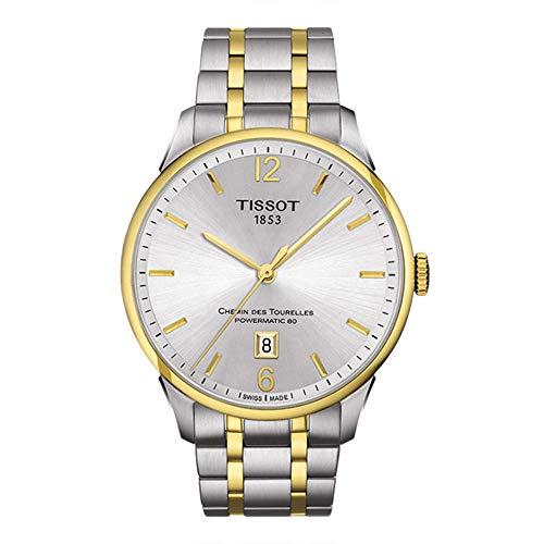 Tissot T Classic Chemin Des Tourelles Automatic Mens Watch T0994072203700 0 - Tissot T-Classic Chemin Des Tourelles Automatic Men's Watch T099.407.22.037.00