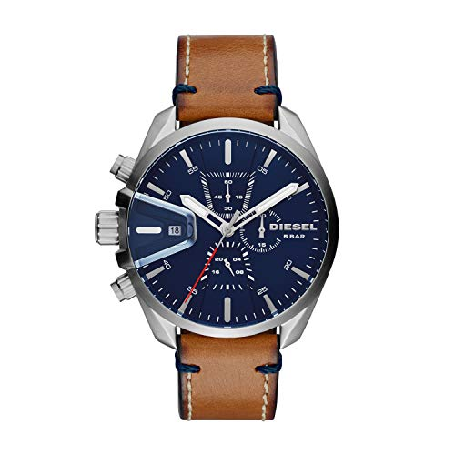 Diesel Analog Blue Over sized dial Mens Watch DZ4470 0 - Diesel Analog Blue Dial Men's Watch-DZ4470