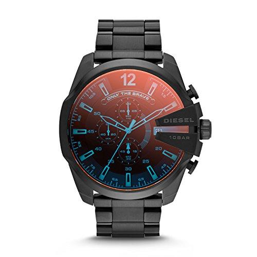 Diesel Chi Chronograph Black Dial Mens Watch DZ4318 0 - Diesel Chi Chronograph Black Dial Men's Watch-DZ4318