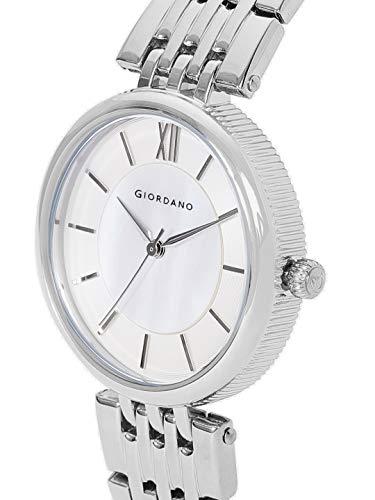 Giordano Analog White Dial Womens Watch A2082 11 0 - Giordano Analog White Dial Women's Watch - A2082-11