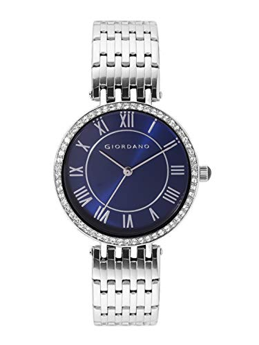 Giordano Womens Metal Strap Roman Dial Vintage Classis Watch Model A2083 0 - Giordano Analogue Women's Watch-A2083