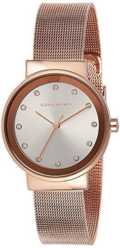 Giordano Womens Watch 0 - Giordano Analog White Dial Women's Watch - A2047-22